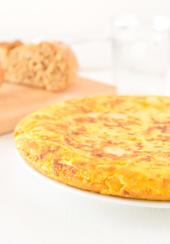 Potato Omelette step by step