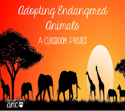 Adopting Endangered Animals Classroom Project