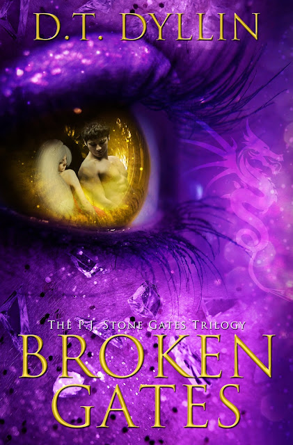 Cover Reveal: Broken Gates by D.T. Dyllin