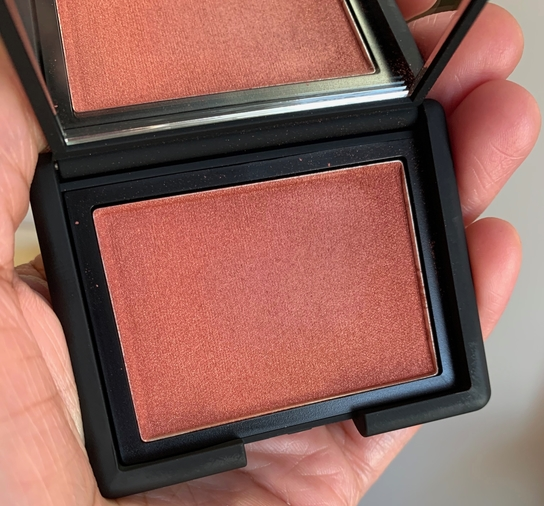 NARS Powder Blush Savage dark skin