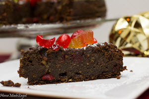 Trinidad Black Cake (Fruit Cake)