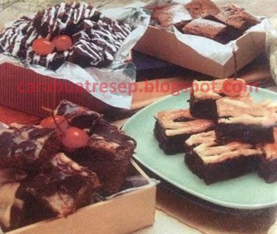 Foto 12 Resep Brownies Panggang Coklat Keju Aneka Rasa Sederhana Lembut dan Empuk Spesial Topping Asli Enak