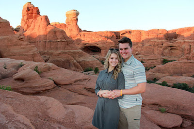 Josie Bates and Kelton Balka engagement photos