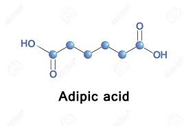 Adipic acid is used as an acidifying and buffering agent in intramuscular, intravenous and vaginal formulations