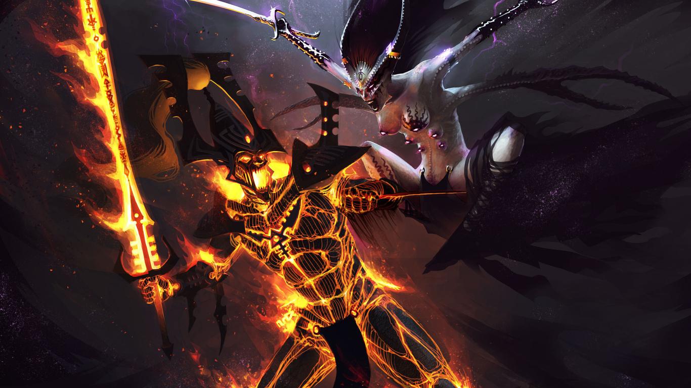 Warhammer 40k Chaos Wallpaper