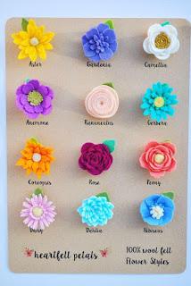 9 Cara Membuat Bunga dari Kain Flanel