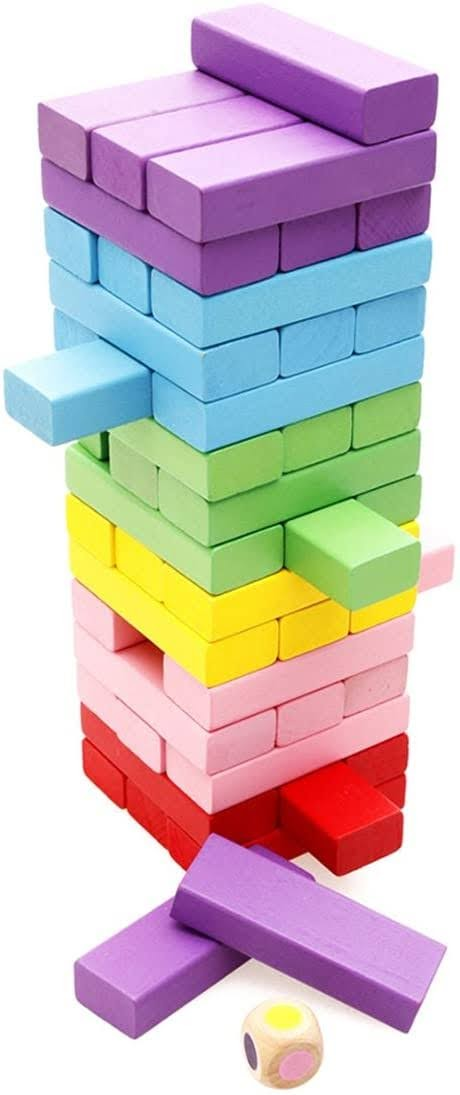 Lewo Wooden Stacking Board Games Building Blocks for Kids | Amazon