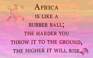 Quote getting to know Africa