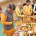 सरदारपुर - गायत्री शक्तिपीठ के हर-हर गंगे घर-घर गंगे अभियान के तहत हुआ कलश पूजन तथा वितरण कार्यक्रम