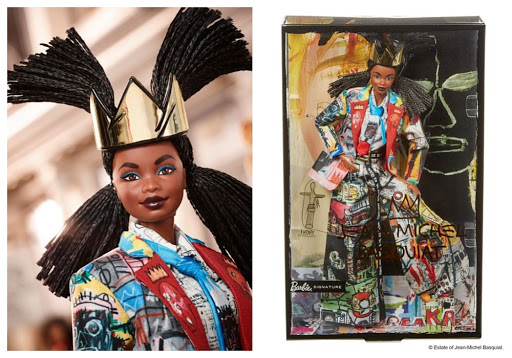 Jean-Michel Basquiat X Barbie