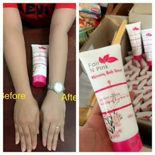 Fair n Pink Serum Body Whitening