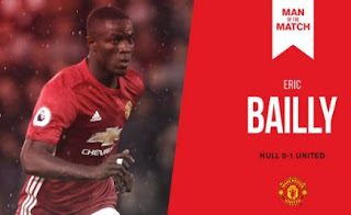 Eric Bailly 'Man of the Match' Hull City vs Man United 0-1