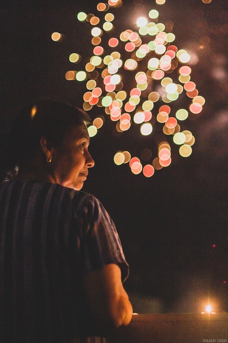 Lighting the Candles/Diyas - 5th April 2020