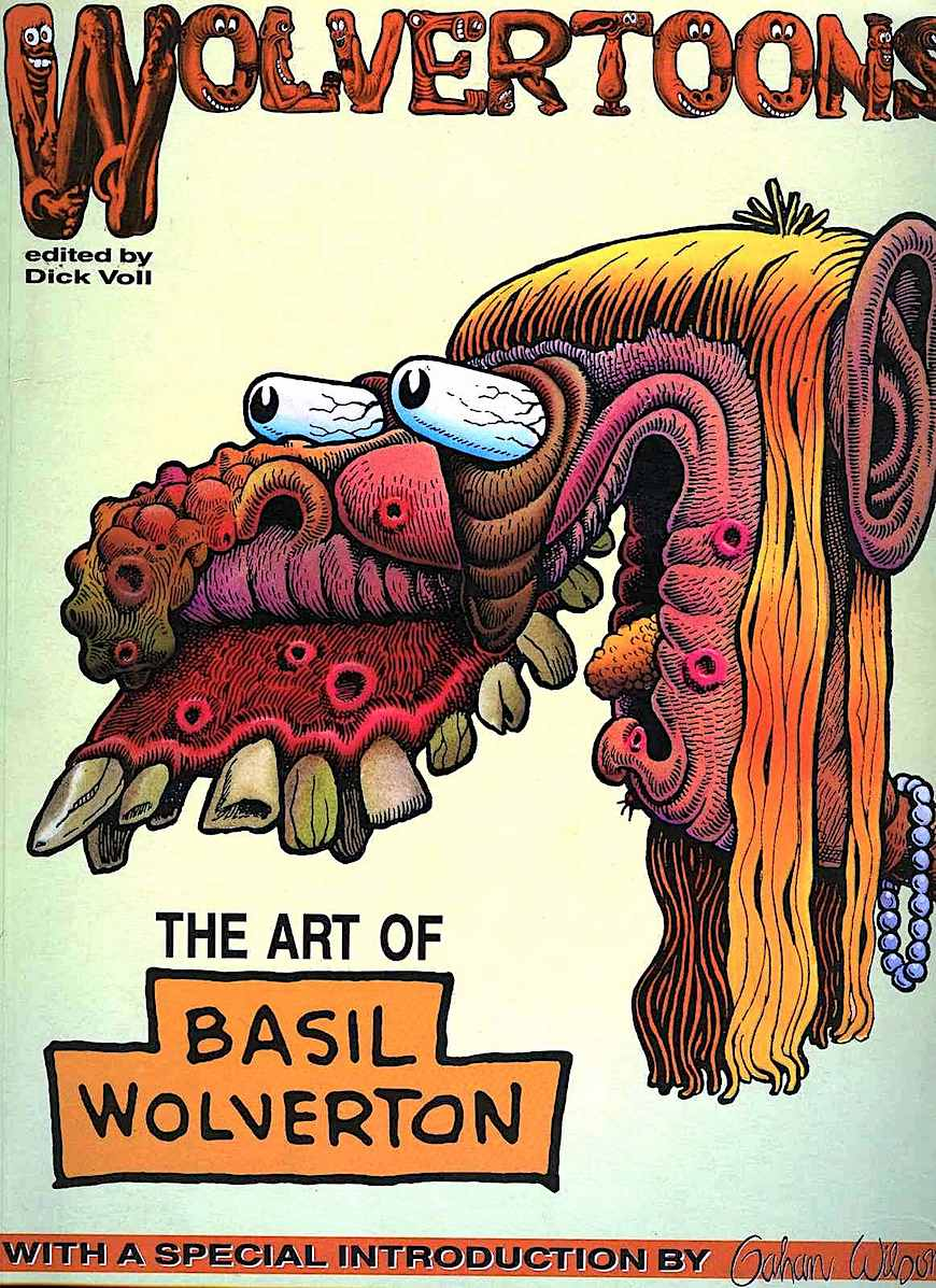 The Art of Basil Wolverton, book cover