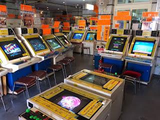 天野ゲーム博物館の店内