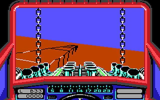Stunt Car Racer, C64