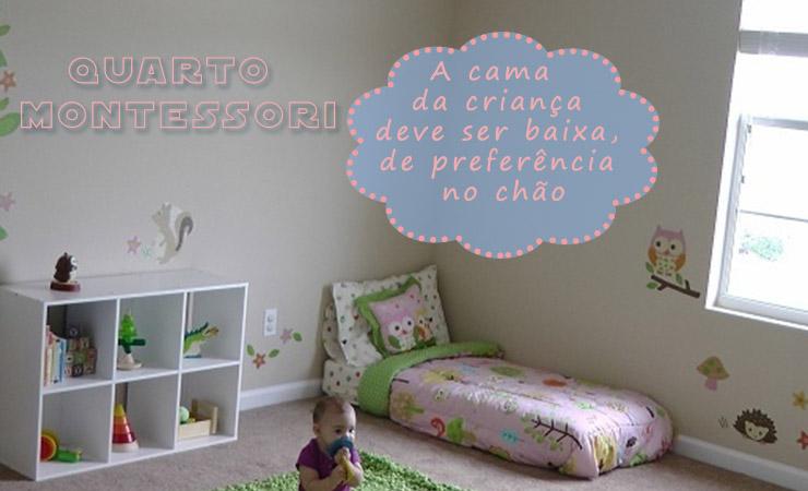 Decoração de quarto de bebê montessori