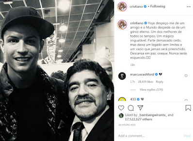 Cristiano Ronaldo Dan Maradona