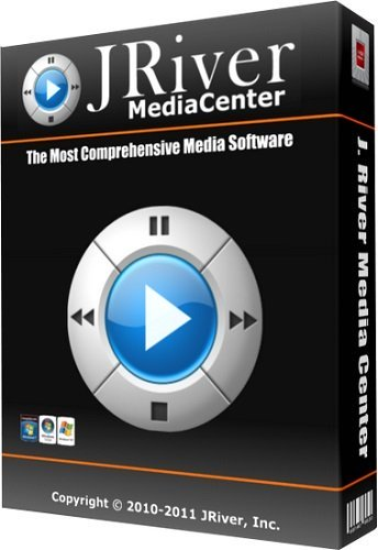 JRiver Media Center 26.0.22 poster box cover