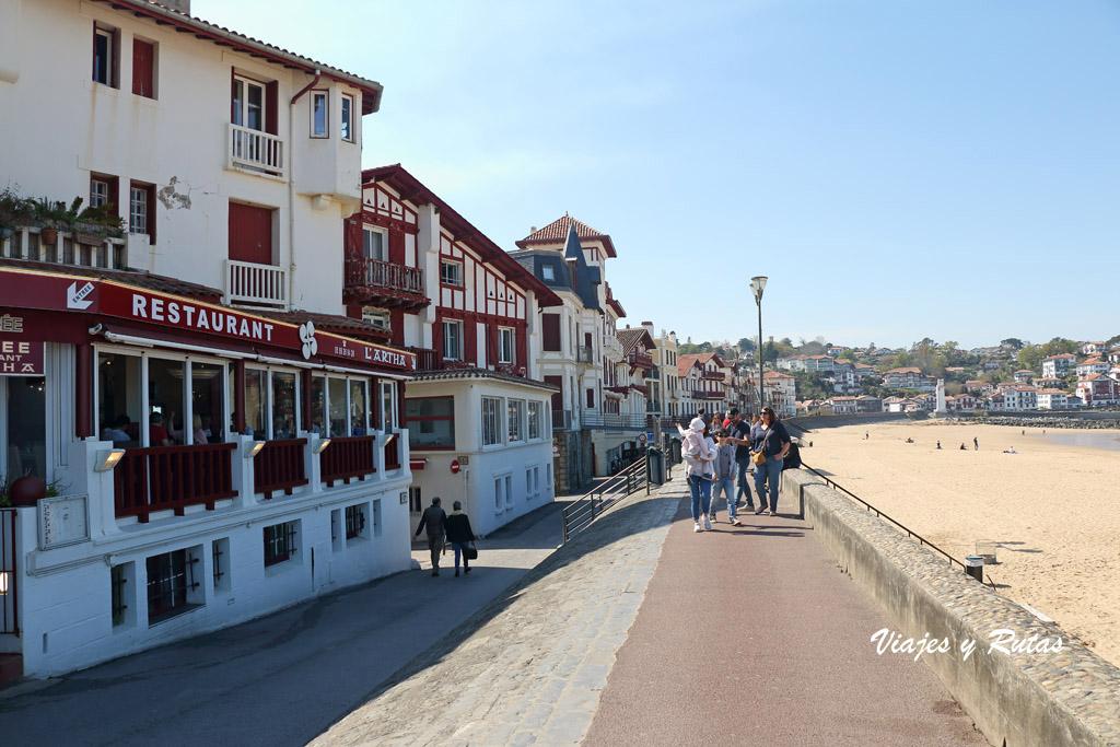 Paseo de Jacques Tribaud de San Juan de Luz