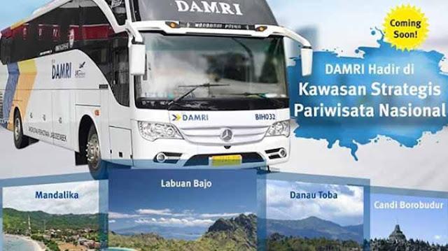 Damri Magelang: Rute Yogyakarta, Sleman, Purworejo dan Bandara