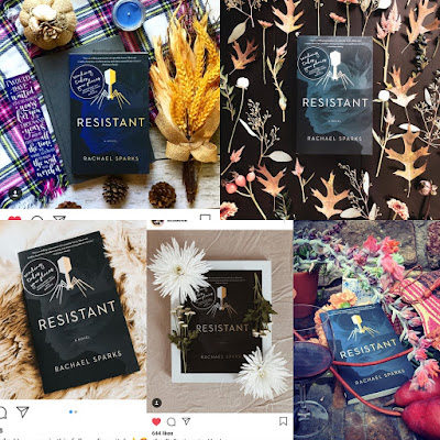 Rachael Sparks Operation Awesome Debut Author Spotlight and Emerging First Book ~ a collage of Instagram pics from Bookstagrammers