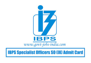 IBPS Specialist Officers SO