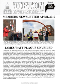 TCS Newsletter April 2019
