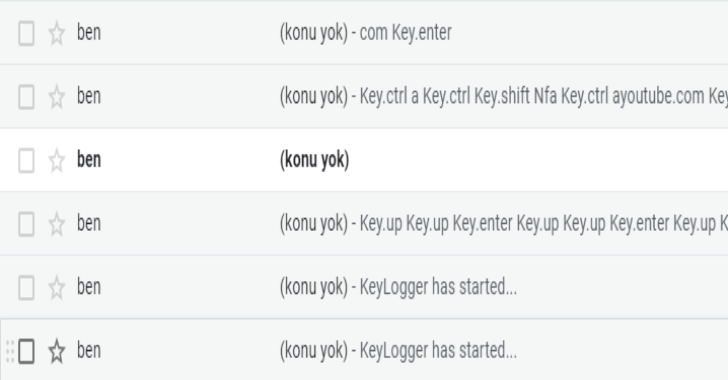 Keylogger : Get Keyboard, Mouse, ScreenShot, Microphone Inputs & Send To Your Mail
