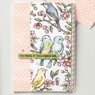 Stampin' Up! Bird Ballad Designer Paper Projects ~ 2019-2020 Annual Catalog