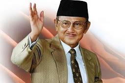B.J. Habibie Tutup Usia 83 Tahun