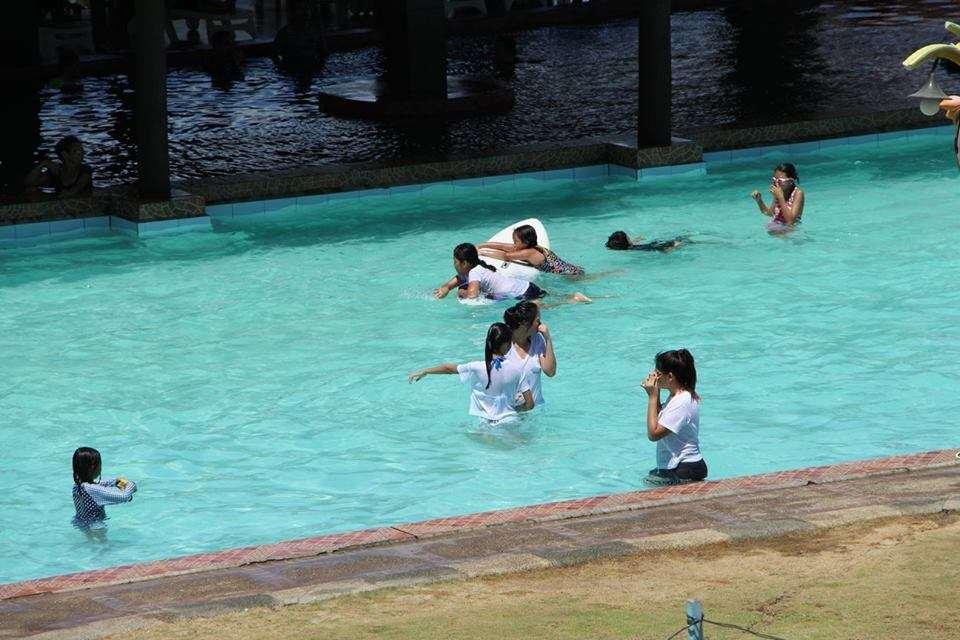 Kiddie swimming pool at Sea Spring Resort Hotel