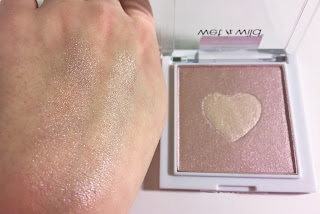 wet n wild megaglo highlighting powder the sweetest bling swatch