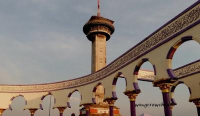 desain masjid agung jawa tengah  semarang