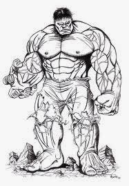 Maestra De Primaria Dibujos Para Colorear E Imprimir Del Increíble Hulk