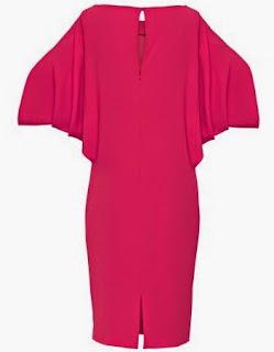 Patrón gratis vestido muy fácil con mangas de murciélago
