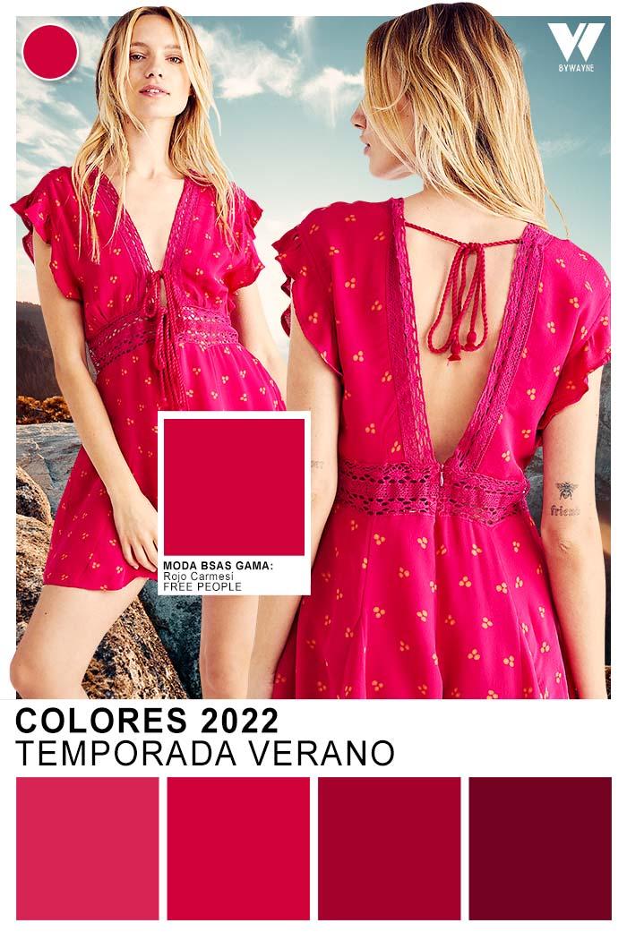 colores tendencia de moda primavera verano 2022