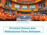 Prestasi Dosen dan Mahasiswa Fikes Dehasen Bengkulu