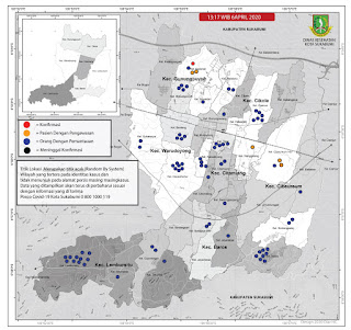 Wilayah Pandemi Corona Kabupaten Sukabumi