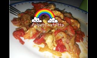 pollo peperoni e cipolla light