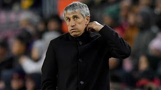 Busquets refuses to criticise Valverde after Setien's debut victory