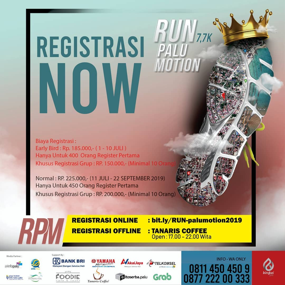 Run Palu Motion • 2019