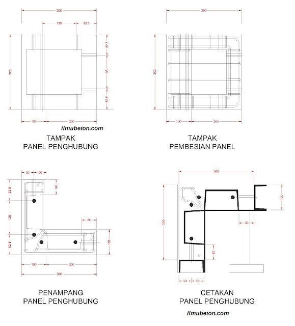 Panel Penyambung Struktur/ simpul