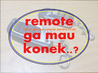 remote tak konek modul alarm