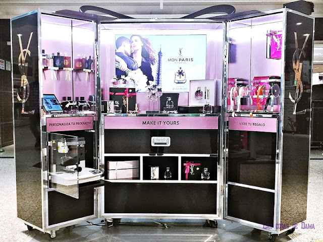 Gifting Station  Yves Saint Laurent Beauté ysl beauty gift regalos personalizados makeup perfum fragancias maquillaje
