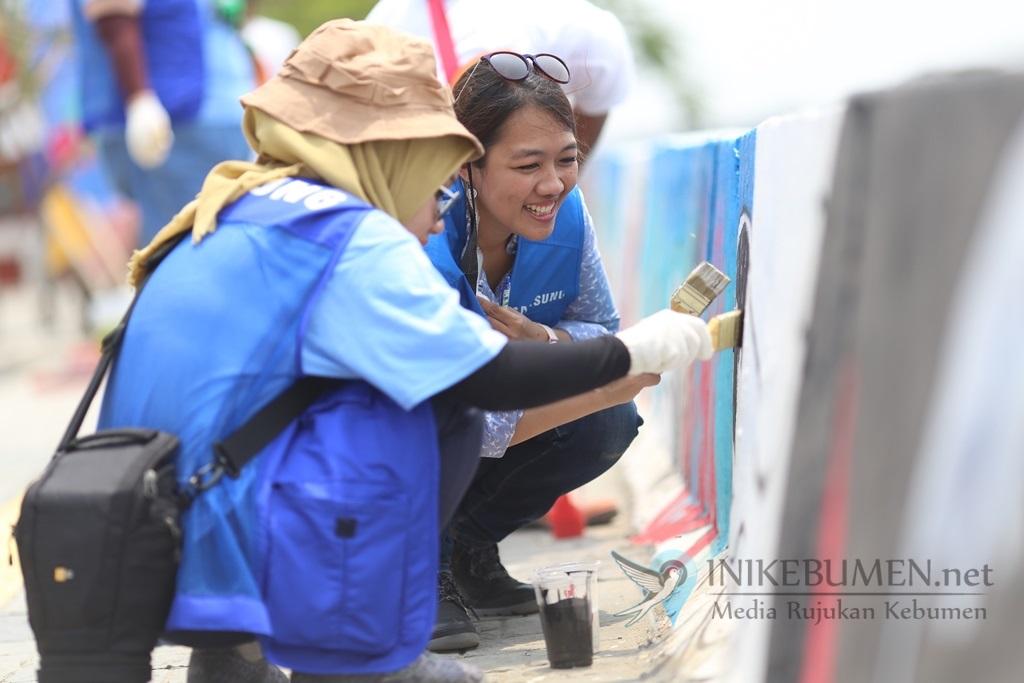 Samsung Employee Volunteer, Program Memberdayakan Kreativitas Warga Kamal Muara