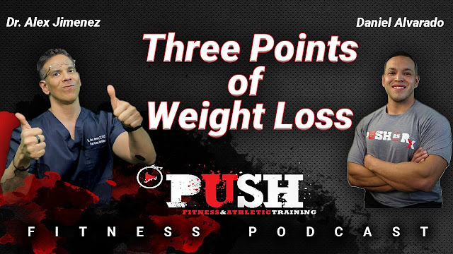 PUSH Fitness Podcast: Three Points of Weight Loss | El Paso, TX Chiropractor