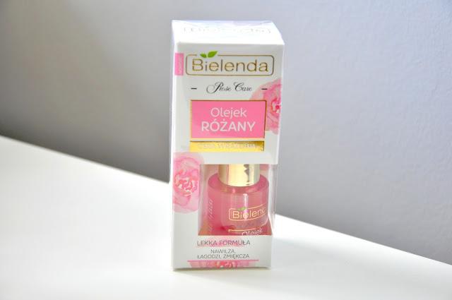 rossmann promocja bielenda rose care olejek różany do twarzy