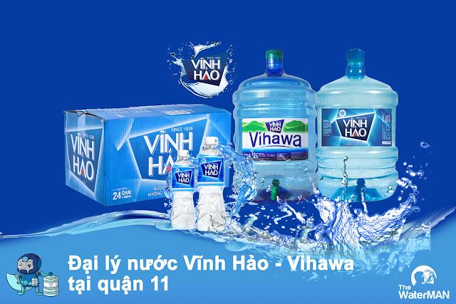 Đại lý nước Vĩnh Hảo - Vihawa đóng chai quận 11