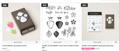 Stampin'Up!'s Sweet Strawberry Bundle